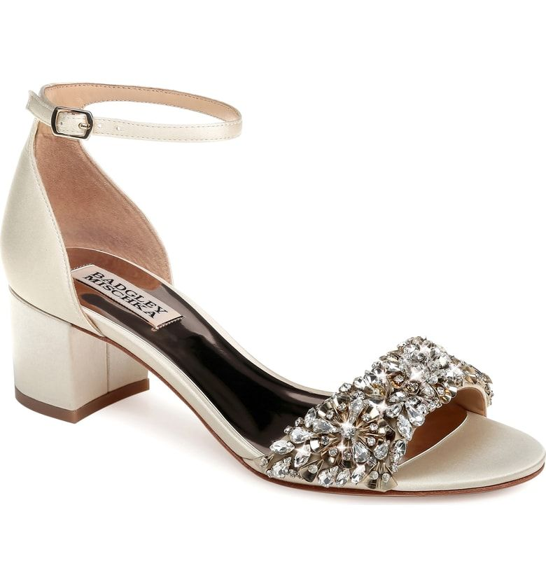 Bridal Shoes At Nordstrom: Free Shipping And Returns On Badgley Mischka Vega Crystal