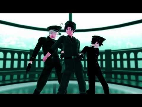 【Hetalia MMD】裏枢軸で虎視眈々.full - YouTube