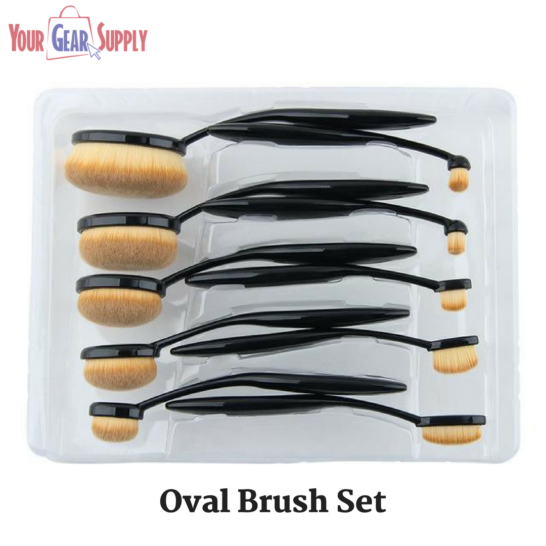 Buy the latest range of 10 piece Oval Brush Set that gives
