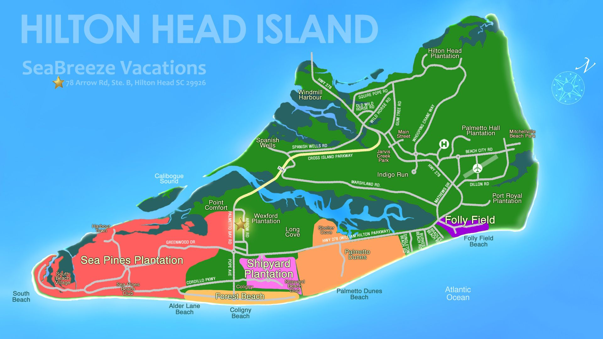 Hilton Head Island Vacation Rentals Forest Beach