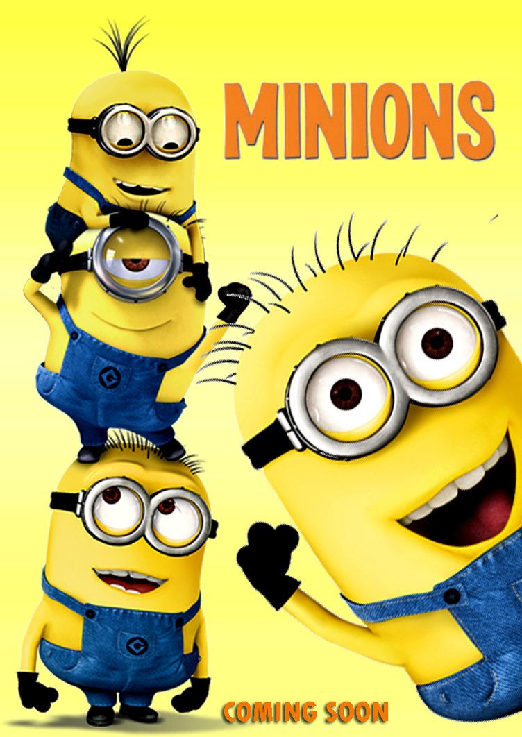 The Minions Second trailer and movie poster revealed