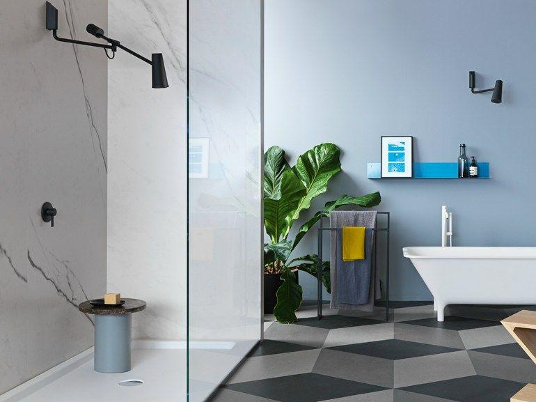 Soffione a muro CLOSER by ZUCCHETTI design Diego Grandi