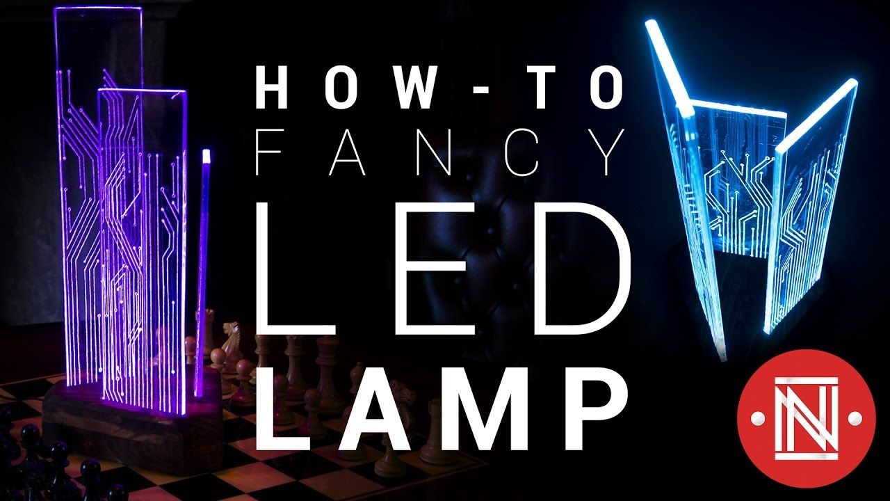 Make a ColorChanging Acrylic LED Lamp! (With images