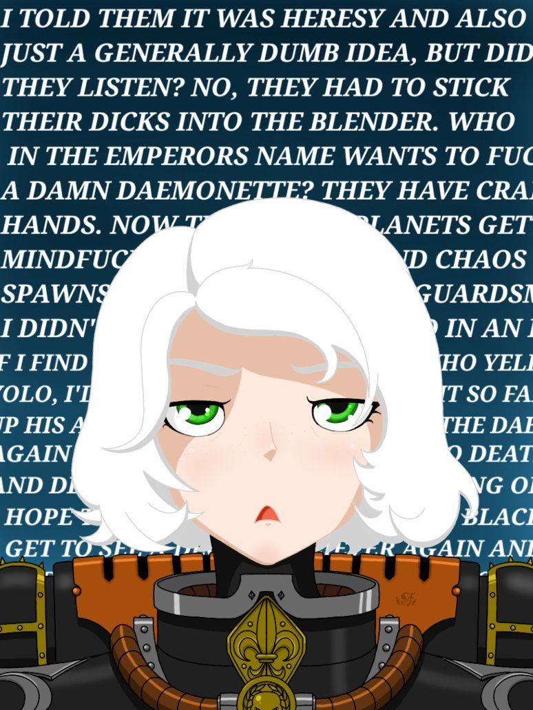 Sister of Battle is annoyed by TechmagusKhobotov ...