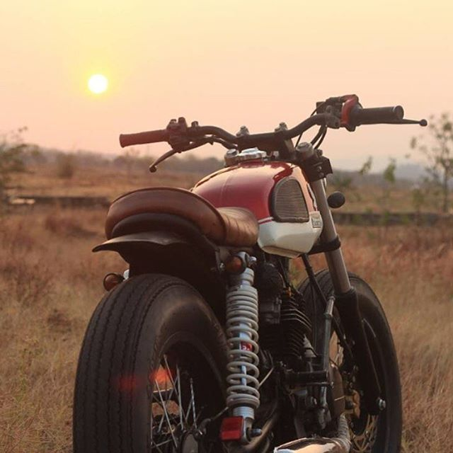 Love everything about this GL125 built by... - CROIG