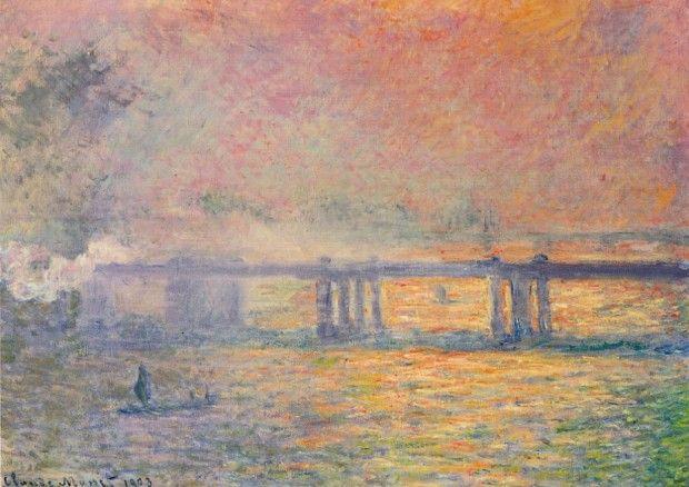 Claude Monet, Charing Cross Bridge, London, 1899-1901, Saint Louis Art Museum