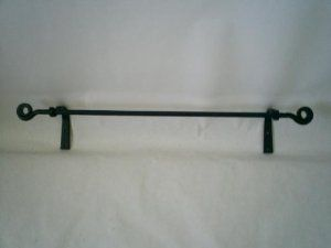 Wrought Iron Towel Rack Hand Amish Made 13 95 Plus 8 Shipping 10 Reviews 4 5 Stars Also Check Out Coat