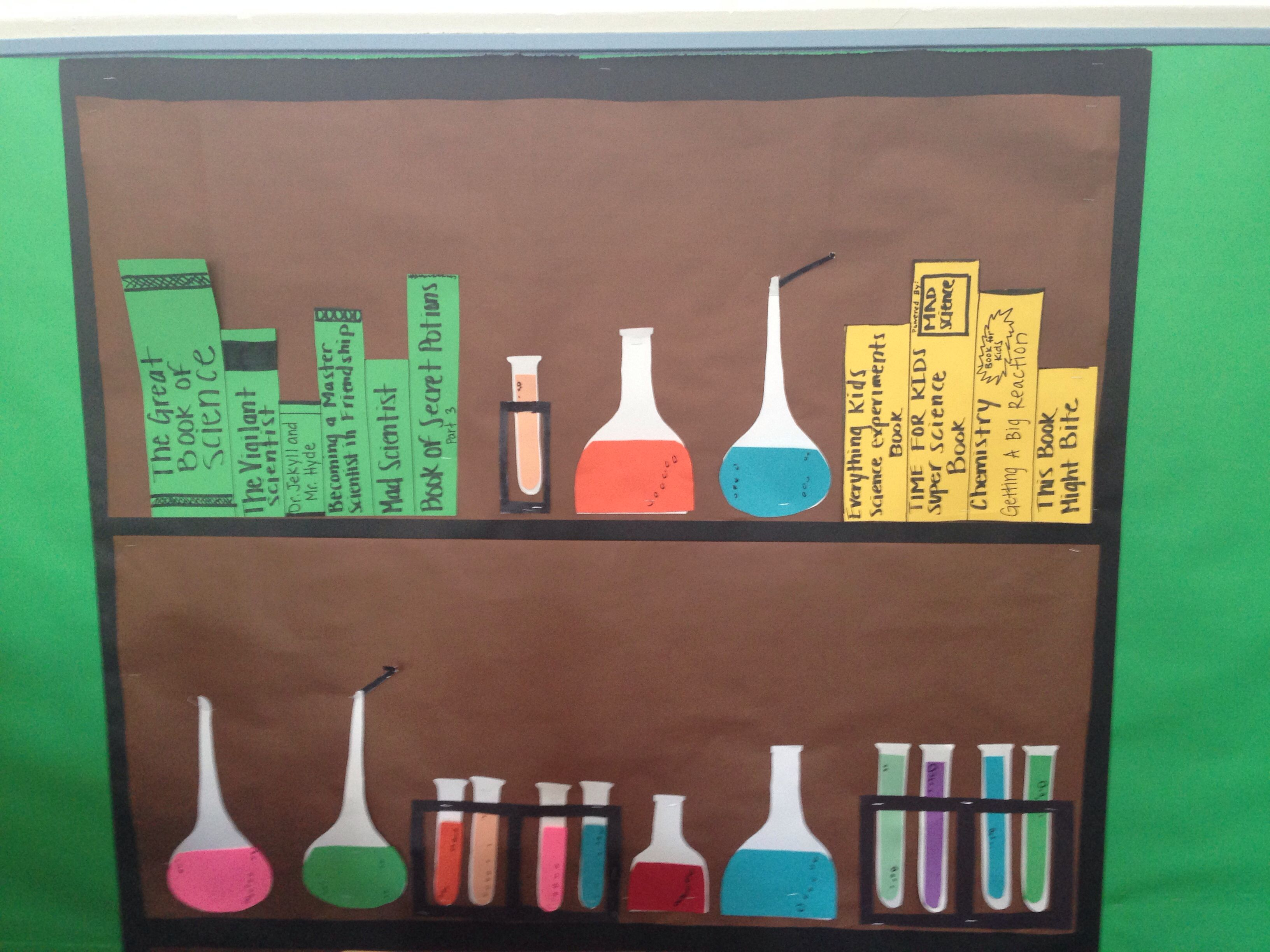 Mad Scientist Classroom Theme
