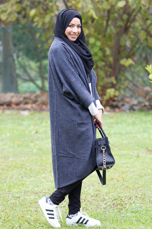 GILET JENNA GRIS FONCÉ - Mayssa Femme Musulmane, Vetement Fashion, Gris  Foncé, Mode 627ffc261110