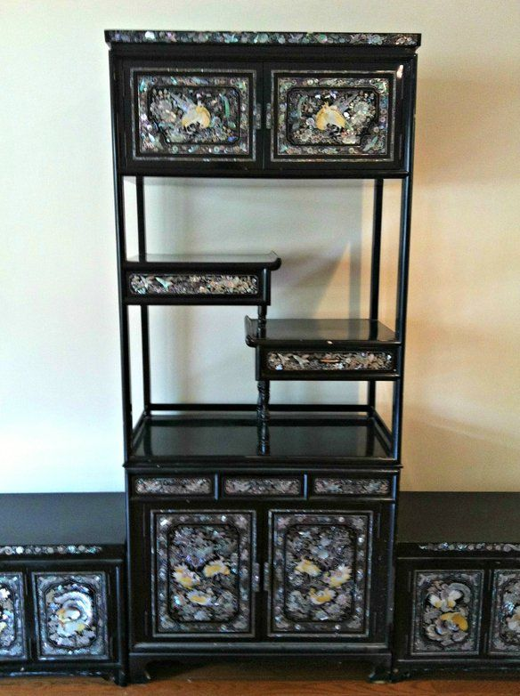 Korean Mother of Pearl lacquered furniture | ASIAN FURNITURE ...