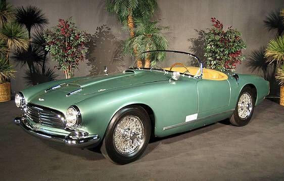 1957 Aston Martin Spider