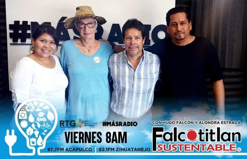 Falcotitlan SUSTENTABLE® Viernes de 8:00 AM  97.7 FM ACAPULCO y 92.1 FM ZIHUATANEJO #MásRadio             #FalcotitlanSUSTENTABLE  OTROS DISPOSITIVOS: http://rtvgro.net/radio/acapulco977/  INVITADOS:  ROBYN SIDNEY GORDON. PRESIDENTA DE LA ASOCIACIÓN PRO DEFENSA Y CONSERVACIÓN DE LA ISLA DE LA ROQUETA AC.  LIC. EFRÉN GARCÍA VILLALVAZO. OCEANÓLOGO Y COORDINADOR TÉCNICO DE LA ISLA DE LA ROQUETA.  TEMA: LA ISLA DE LA ROQUETA COMO PROYECTO SUSTENTABLE.