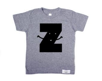 Letter z kids t shirt grey personalized baby gifts monogram letter z kids t shirt grey personalized baby gifts monogram shirt hipster negle Image collections