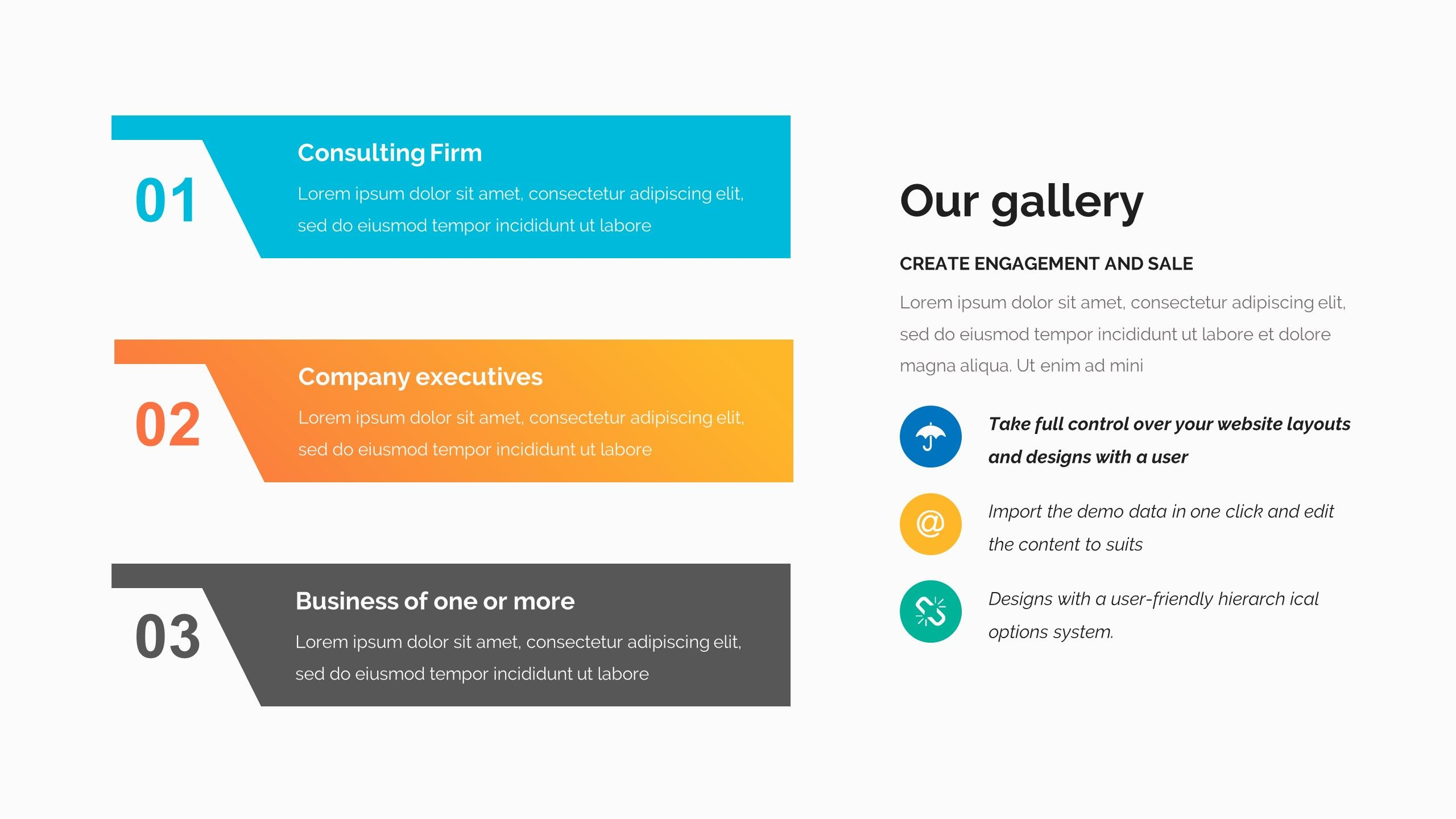 Vision Statements Pitch Deck Google Slide Template Creative Resume Template Layout Keynote Template Wellness Design