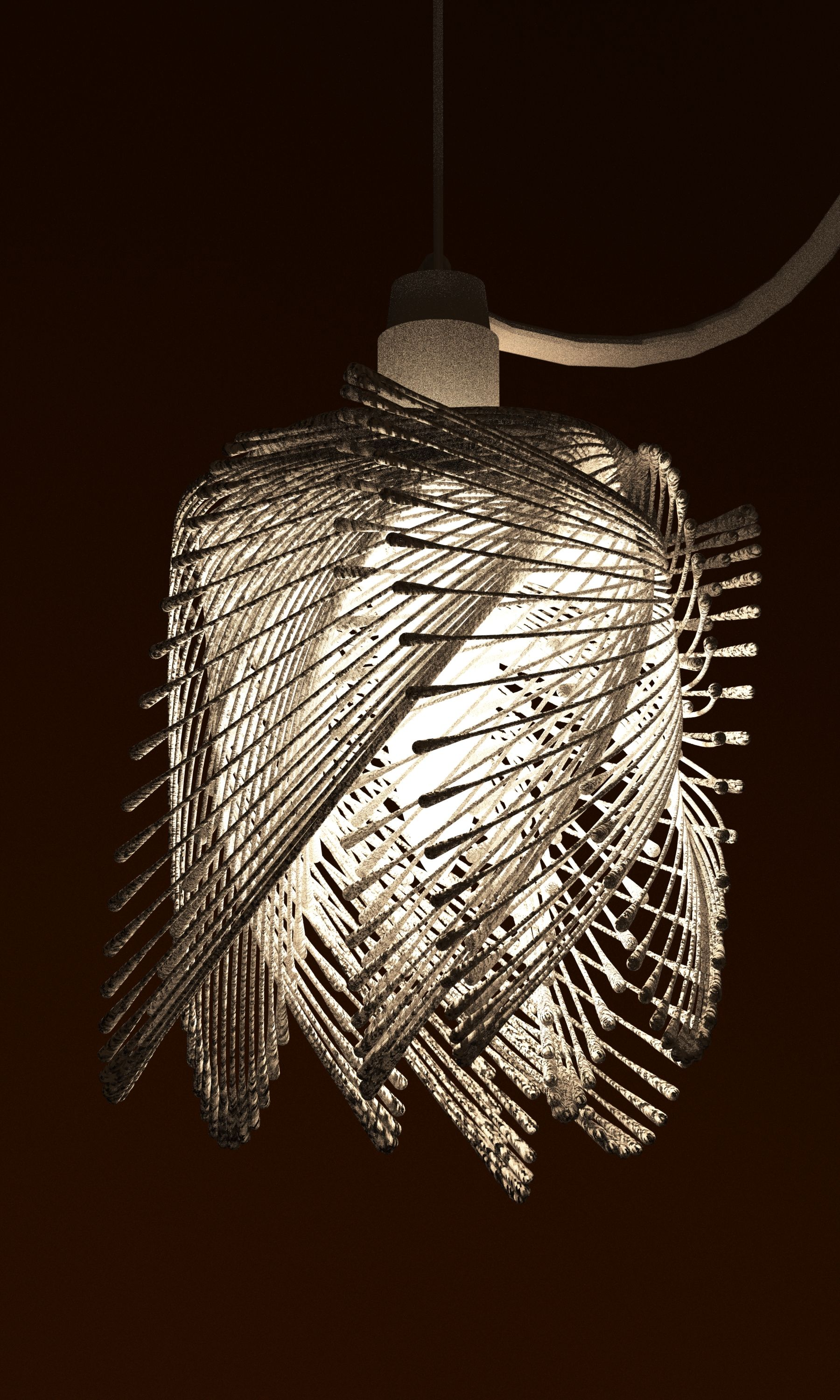 Lamp Shade 3d Print By Studioluminaire Futuristic Interior Futuristic Lighting Lamp