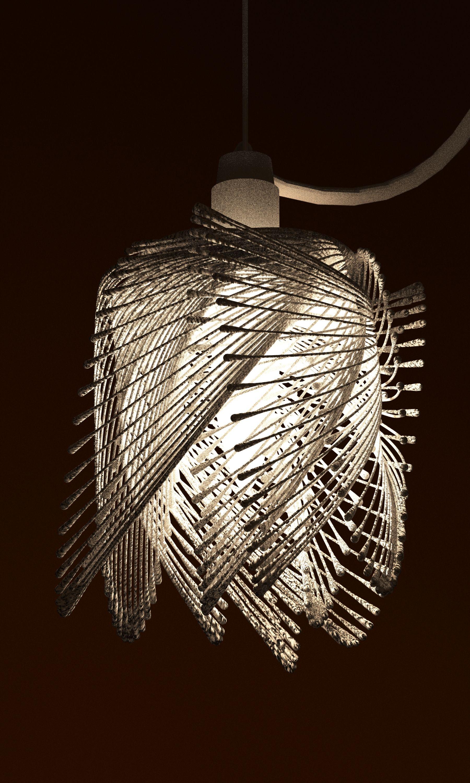 lamp shade 3d print by studioluminaire | _LIGHT_ | Pinterest ...