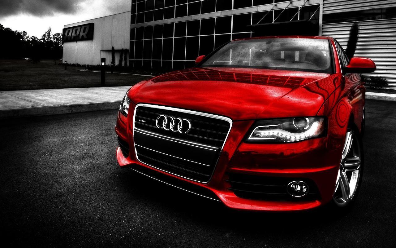 Audi in red   Audi a4, Computer wallpaper hd, Car wallpapers