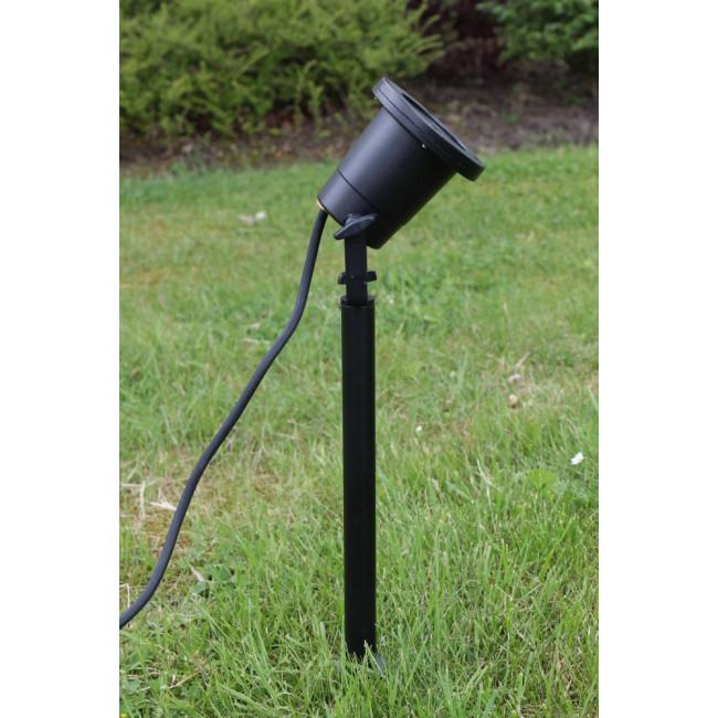 Prikspot Tuinspot Gu10 Ip67 Spear Garden 2 5m Kabel Zwart Met Grondspies In 2020 Groen Lampen En Kabel