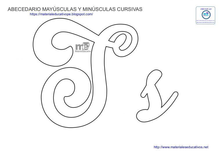 Moldes De Letras Cursivas Mayusculas Y Minusculas Material Educativo Letras Cursivas Moldes De Letras Moldes De Letras Cursiva