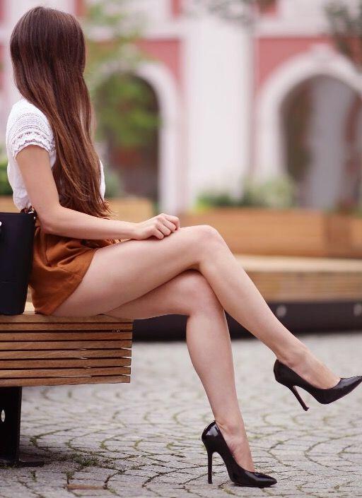 Legs beautiful crossed
