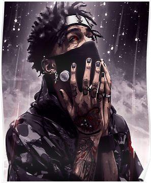 Scarlxrd 2 Poster in 2019 Rapper art, Savage