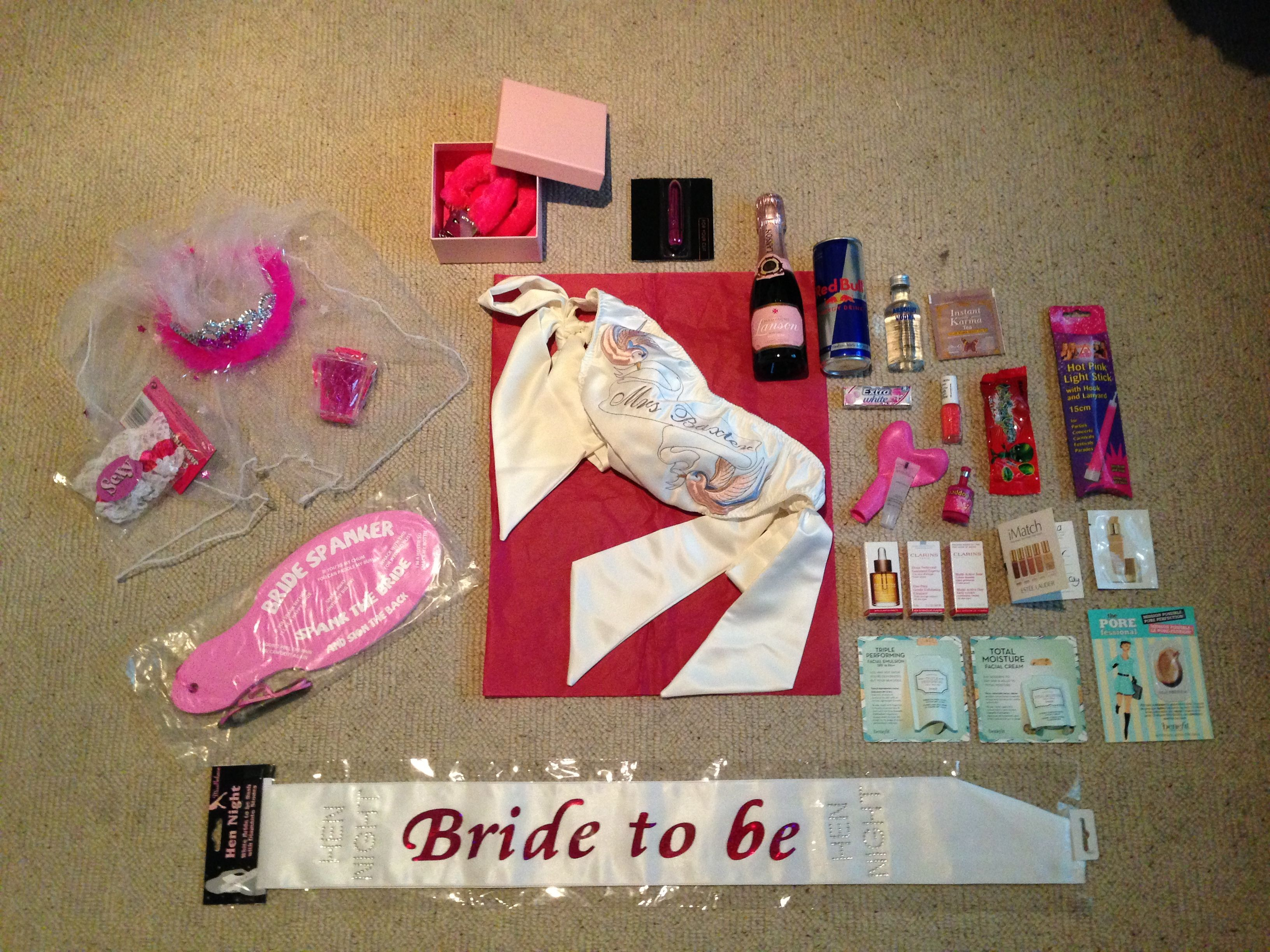 Hen party gifts, Party gifts and Hens