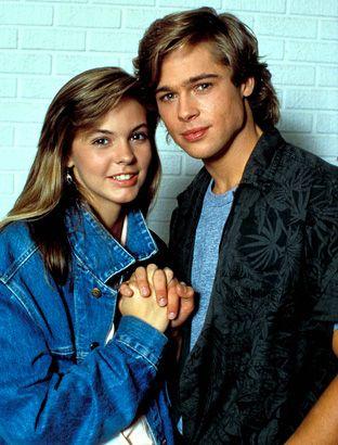 Brad Pitt Dallas Tv 1987 Photo 312 410 Pixels