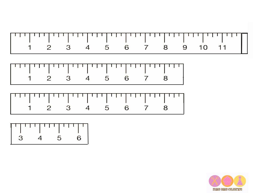 Printable Rulers For Preschool
