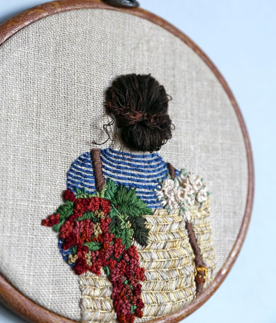 Pin By By The Bay Needleart On Embroidery Stitching N More
