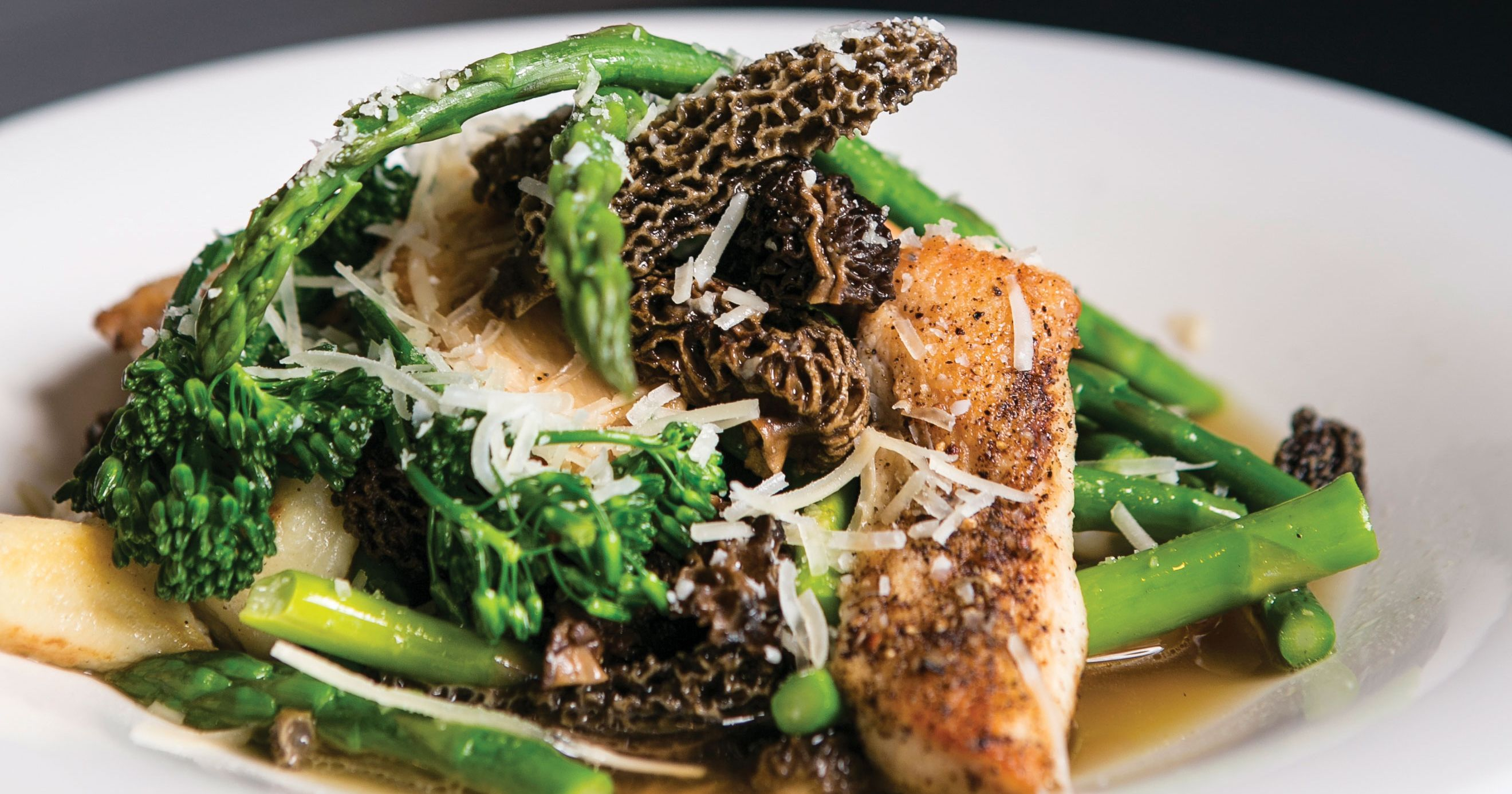 Find Northern Michigan's marvelous morels at these premium dining destinations and taste the spectrum of spring's bounty Up North.