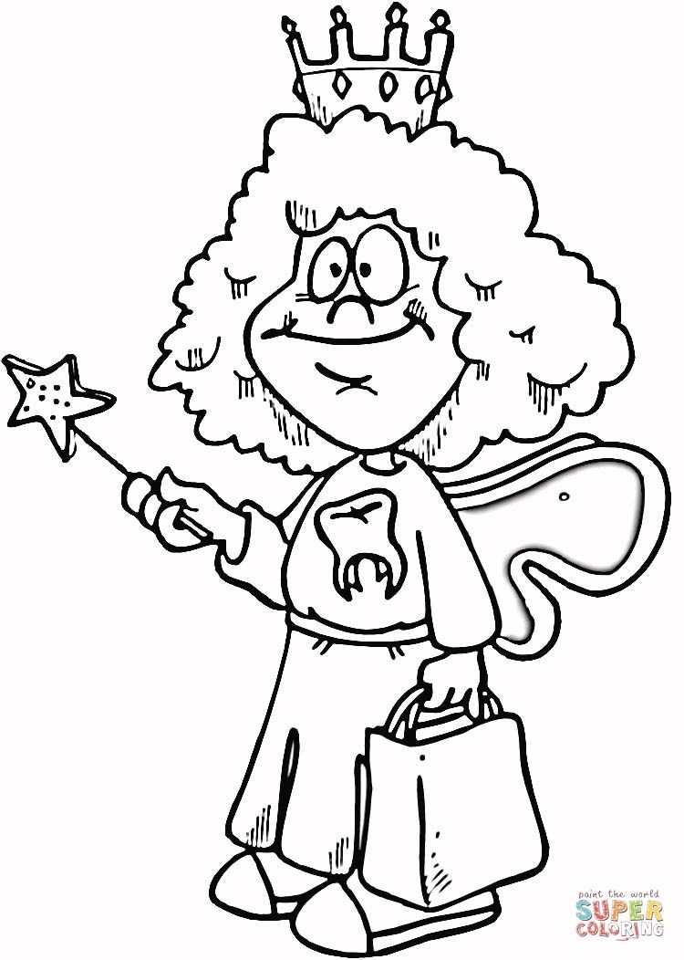 Tooth fairy coloring page t 39 s pix for Tooth fairy coloring page