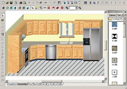 Kitchen Cabinet Layout Design Software Free From Kitchen Cabinet