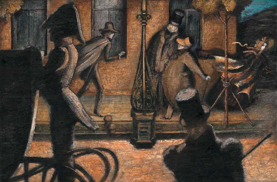 Иллюстрации к невскому проспекту гоголя