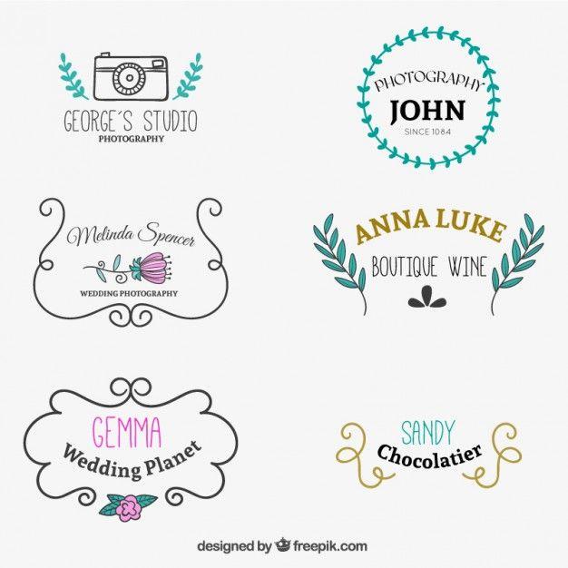 Logo os modelos desenhados doces | Confectionery, Logo ...