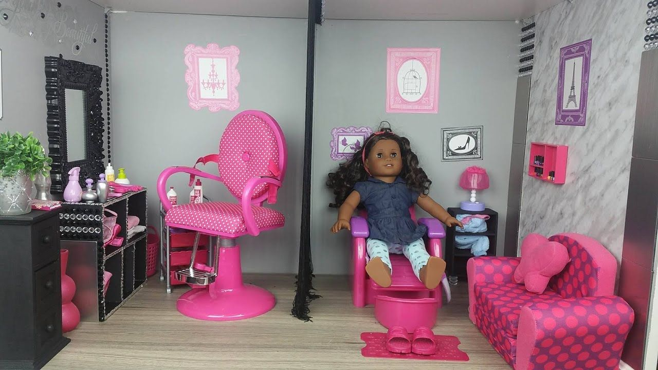 American Girl Doll Salon And Spa American Girl Doll Furniture American Girl Doll Sets American Girl Doll Hairstyles