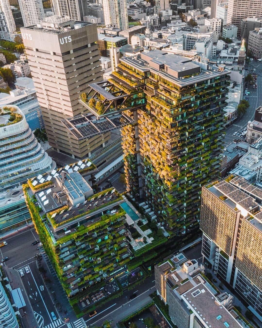 Ateliers Jean Nouvel On Instagram World S Tallest Vertical Garden One Central Park Sydney Photo By Jmermot Parks In Sydney Central Park Vertical Garden