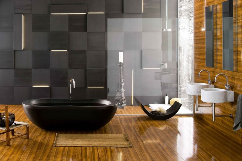 Modern Futuristic Bathroom Interior Minimalist Style Design Excerpt Designs Blog Japanese