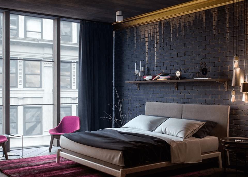 Schlafzimmer Lampe Gold Dekoration