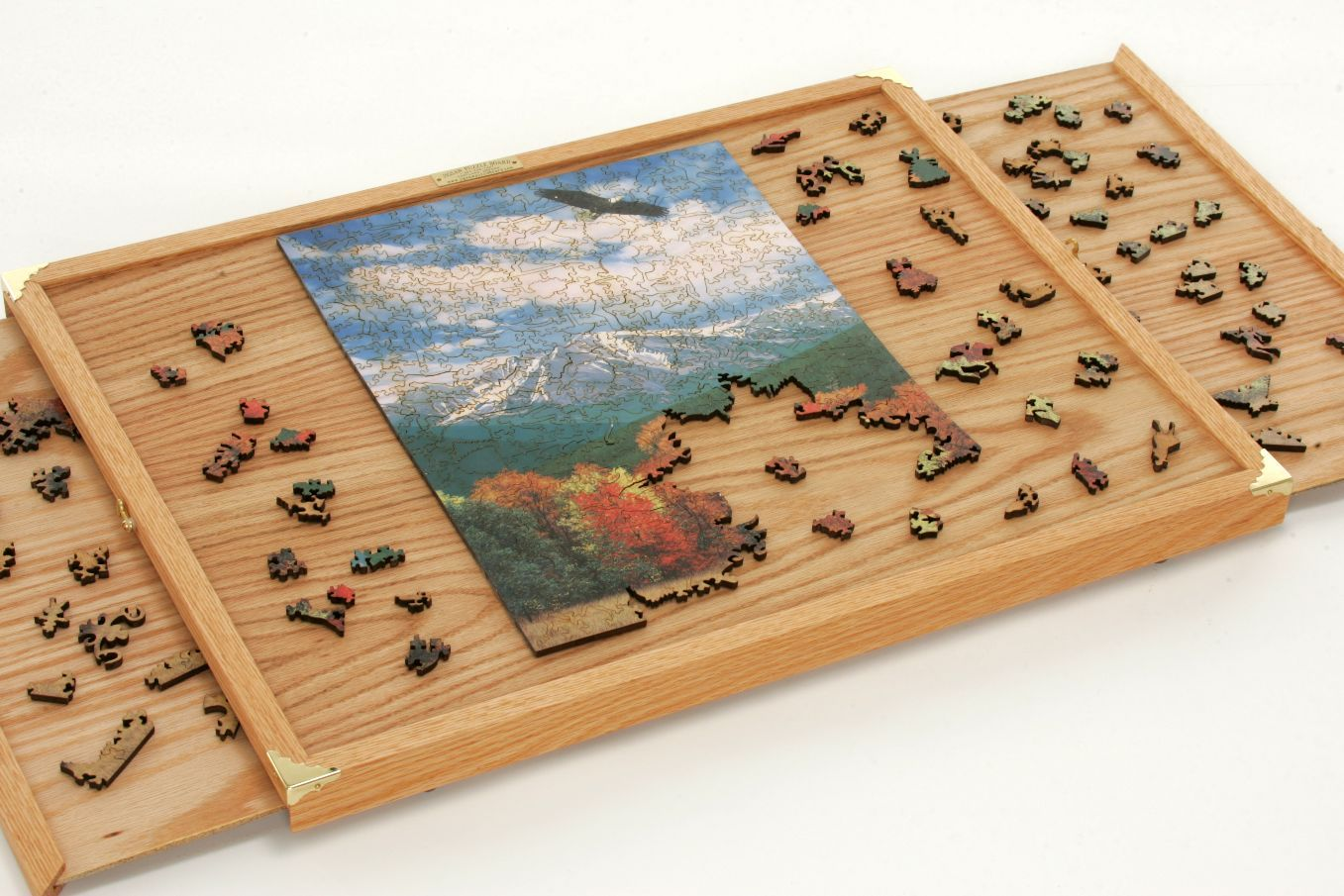 Puzzle Board Craft Ideas Jigsaw Puzzle Table Puzzle