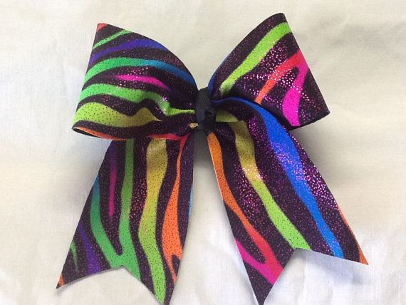 Cheer Dance Gymnastics Bow Large Hair Bow by RazzyRibbonsBowtique, $10.50
