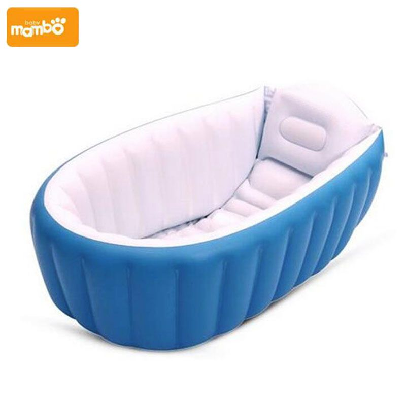 Mambobaby Portable Inflatable Baby Bath Kids Bathtub Thickening ...