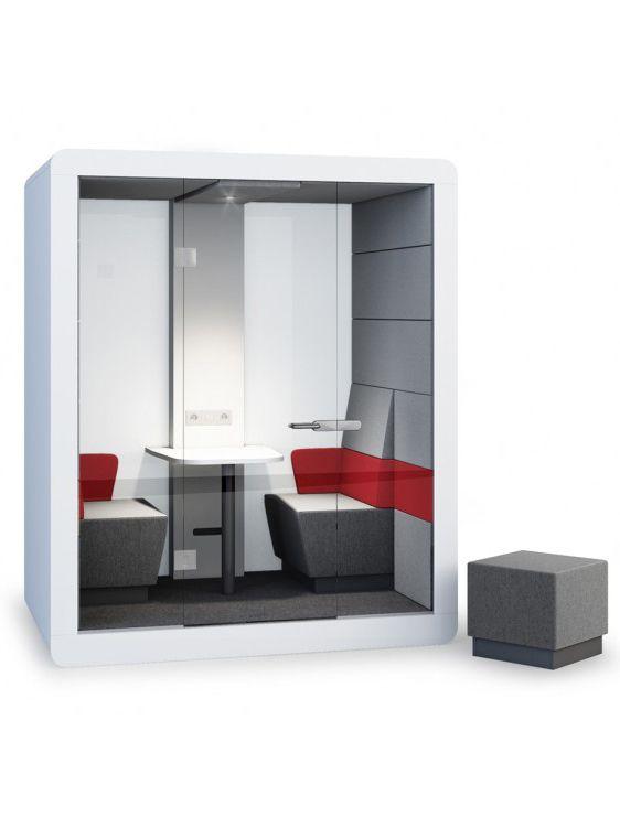 Glas Raumsystem Inwerk four Meeting | кабины | Pinterest | Meeting ...