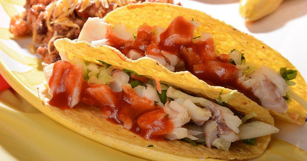 Recipe for quick and easy Baja Fish Tacos!