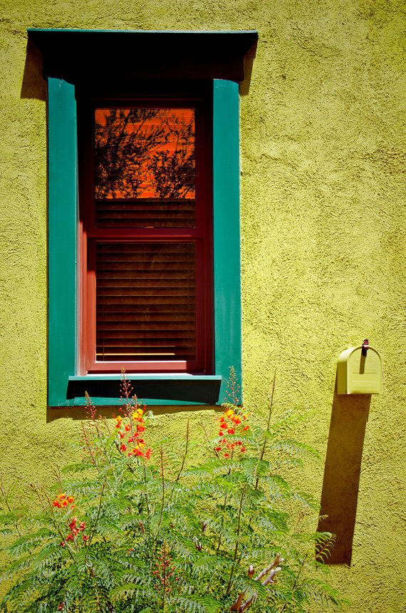 Southwest window adobe photography art wall hanging by PhotoQuarry ...