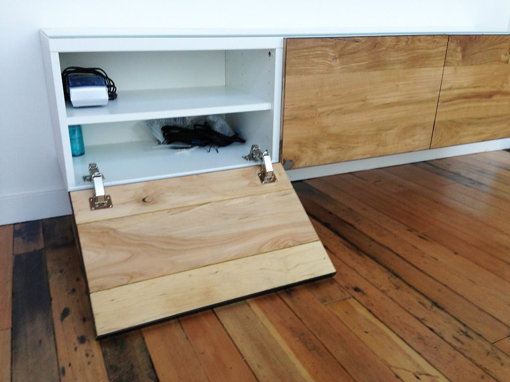 ikea hackers besta gets floored ikea hacks pinterest ikea hackers ikea hack and wide plank. Black Bedroom Furniture Sets. Home Design Ideas
