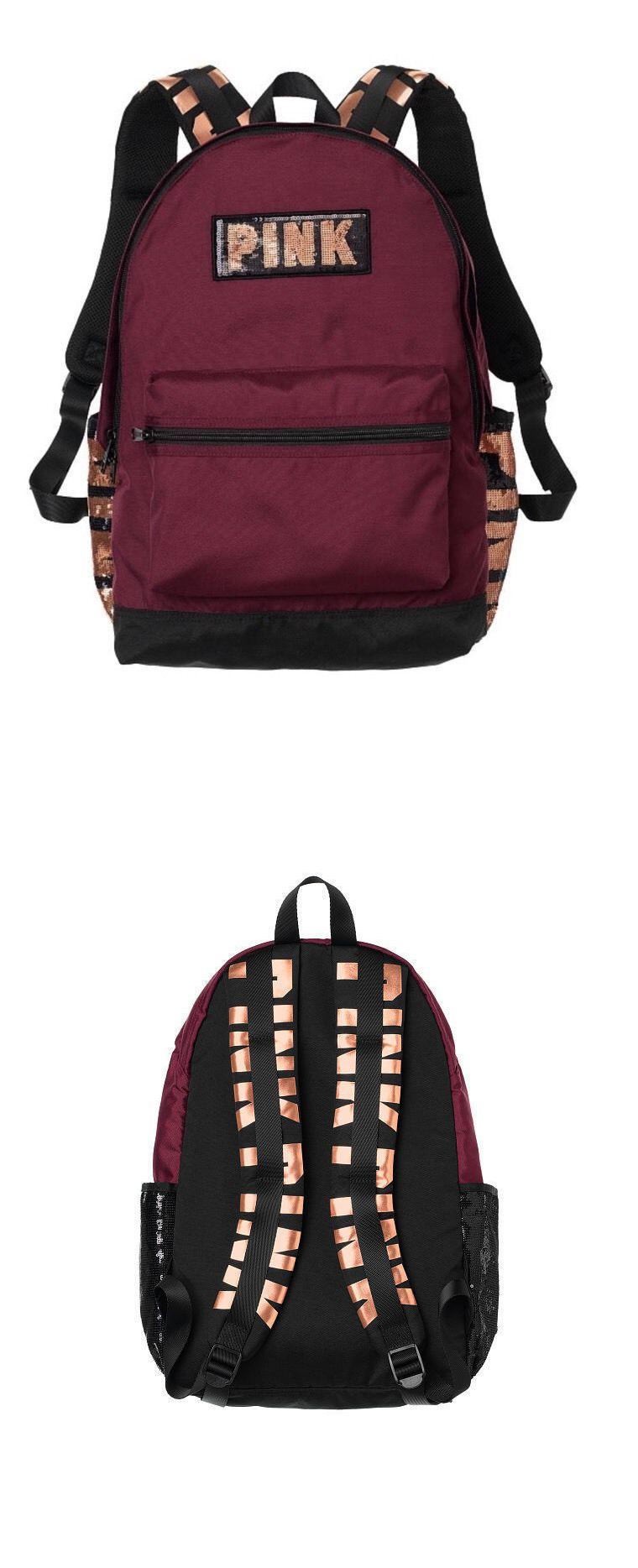 Victoria Secret Pink Backpack Maroon- Fenix Toulouse Handball 12b93ccd5e7a8