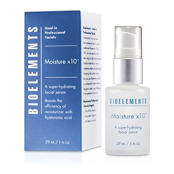bioelements moisture x 10 29ml/1oz Ion Lead-In Vibration Facial Beauty Massage Device for Spot Fading Whitening