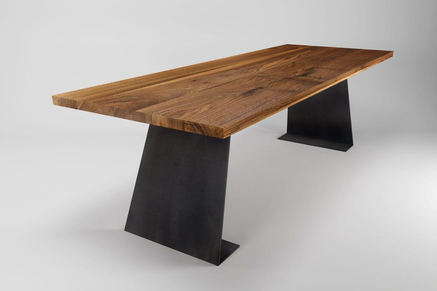 Nussbaum Tisch Farum Modern Nach Mass In 2020 Nussbaum Tisch