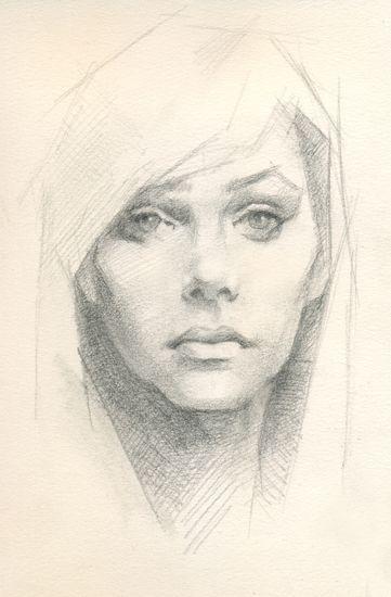 Nice technique pencil sketch