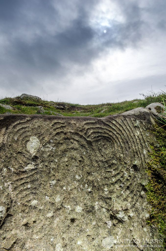 Megalithic art at Cairn U Loughcrew